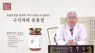 경성건강원 구기자 고지베리의 유용성