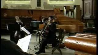 """Corrette; Cello Sonata 6 """"Les Delices de la Solitude""""; performed by Bassorum vox"""