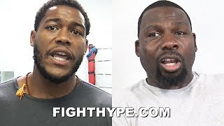 MICHAEL HUNTER & HASIM RAHMAN SEND JOSHUA FIGHTING WORDS; EAGER TO GIVE HIM