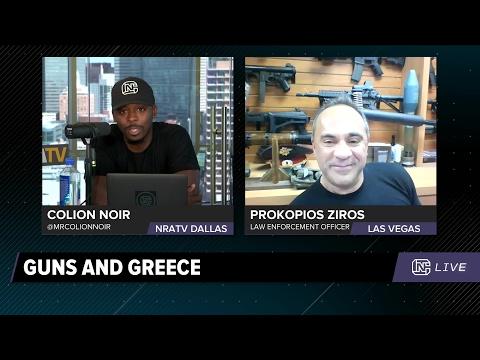 CN Live   Prokopios Ziros: Gun Control in Greece - 5/4/17