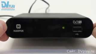 Harper 1200 - обзор DVB-T2 ресивера(Обзор цифровой ТВ приставки Harper 1200. Узнать цену на Harper 1200 ..., 2015-07-30T07:00:01.000Z)