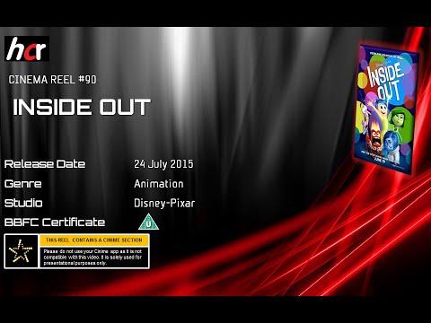 Cinema Reel - Inside Out (Cert U)