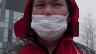 """""""别给国家添麻烦"""" 北京民众谈肺炎防疫"""