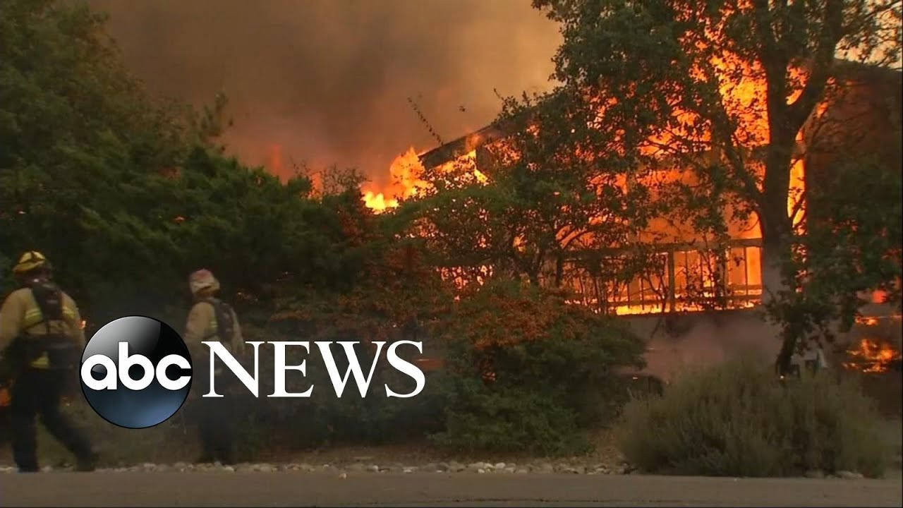 State of emergency declared in 3 California counties as firefighters attempt to contain wildfires