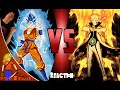 Ssgss Goku Vs Naruto: Cartoon Fight Club Reaction review: Steven Z Killer video