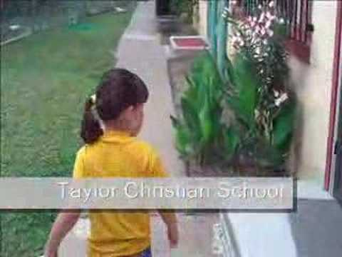 Going to Taylor Christian School