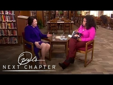 Justice Sonia Sotomayor's Advice for Students   Oprah's Next Chapter   Oprah Winfrey Network