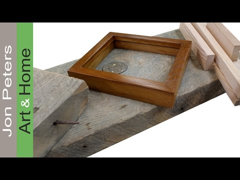 How To Mill Reclaimed Lumber into Frame Molding. - YouTube