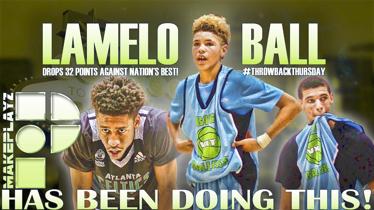 Long Before LaMelo Ball Scored 92 Points...The 13 Y/O Went Off on Nation's Best Seniors!