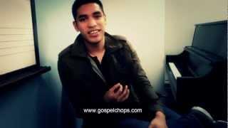 Joshua Young Interview on BASS SESSIONZ VOL. 2 @ GospelChops.com