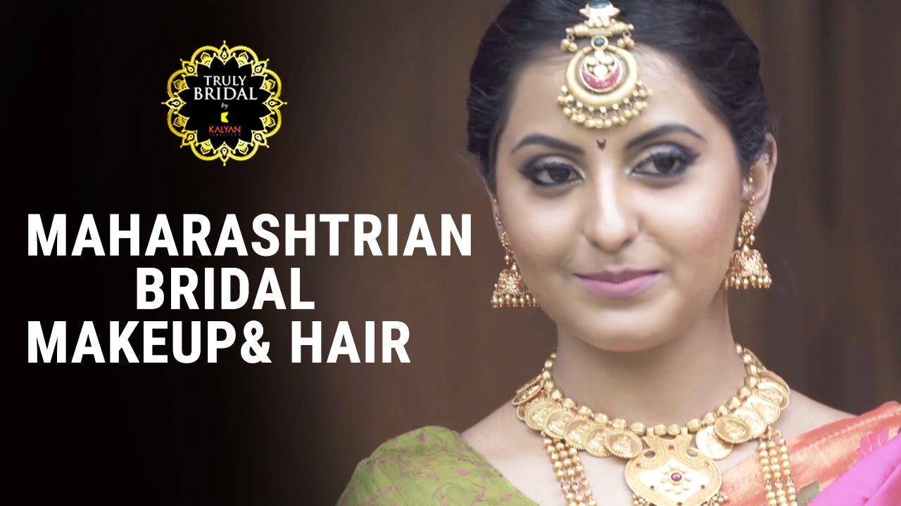 maharashtrian bridal makeup & hair - by makeup & hair expert
