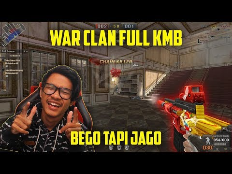 KMB FULL TEAM COMEBACK!!! MARI KITA RATAKAN WAR CLAN! // Gameplay Point Blank Zepetto Indonesia