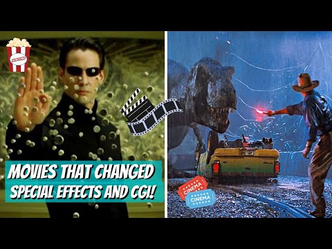 Movies that Changed the History of Special Effects and CGI!