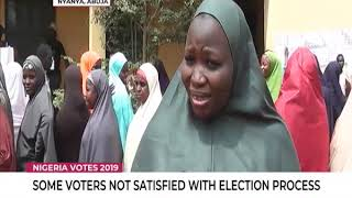 Some voters not satisfied with election process in Nyanya