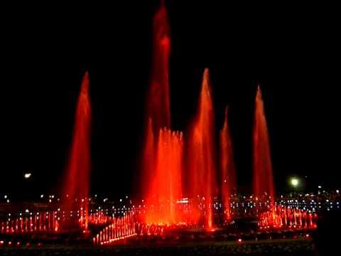 Kota Kinabalu Perdana Park Musical Fountain