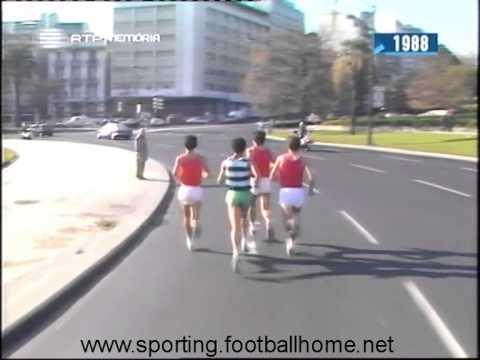Atletismo :: Mário Silva (Sporting) vence Grande Prémio do Natal em 1988
