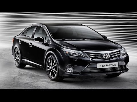 new 2016 toyota avensis youtube. Black Bedroom Furniture Sets. Home Design Ideas