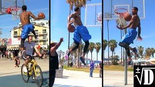 Guy Dupuy AMAZING Dunk Session @ Venice Beach : Raw Dunks Video