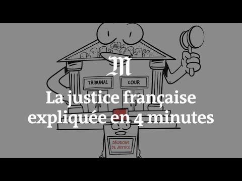 Le fonctionnement de la justice française expliqué en quatre minutes