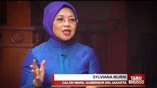 [Tamu Khusus]  Bincang Bersama Cawagub - Sylviana Murni