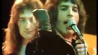 キラー・クイーン 和訳字幕付き Killer Queen - Queen lyrics (Top pop 1974)