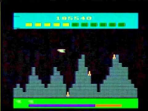 SUPER COBRA (ATARI 2600) gameplay