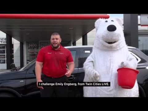 White Bear Mitsubishi >> White Bear Mitsubishi Als Ice Bucket Challenge Mascot Edition