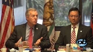 Đại sứ Ted Osious gặp gỡ CĐ Việt tại văn phòng GSV quận Cam Andrew Đỗ