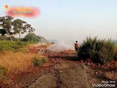 Indian coal mine fire in arth