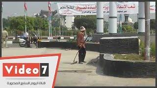 بالفيديو.. فى سباق مع الزمن .. الإسماعيلية تضع اللمسات الأخيرة لافتتاح قناة السويس الجديدة