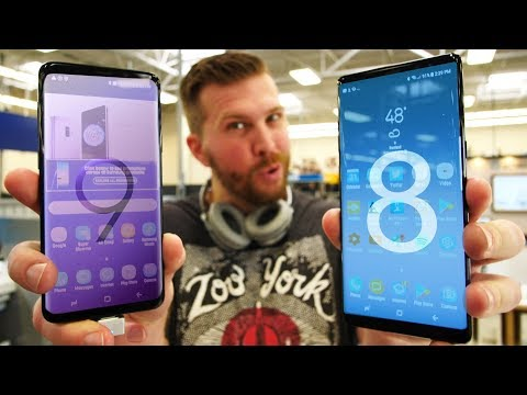 Galaxy S9+ vs Note 8 - Which One Should You Buy?