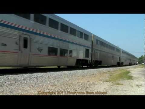 Amtrak 156 phase I (Texas eagle) at Terrell, Tx. 05/28/2011