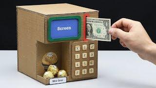 How to Make CHOCOLATE Vending Machine with Money Saving