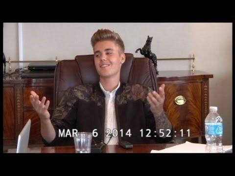 Justin Bieber Deposition Video: Pop Star Like You've Never Seen Him Before