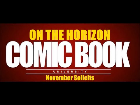 On the Horizon - Previews for November 2019 | COMIC BOOK UNIVERSITY