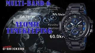 🎬 What is Multiband 6 Atomic Timekeeping 🎬 Top 7 Multiband 6 G Shock Watch Models ⭐️⭐️⭐️⭐️