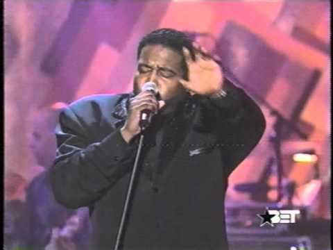 Gerald Levert Luther Vandross Bad Boy Having A Party Live