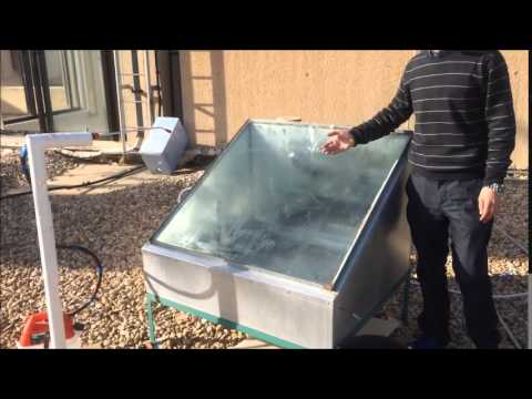 Solar Desalination with Evaporative Cooling  Ashraf Kiwan