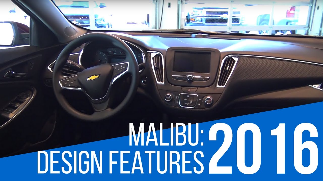 2016 Chevrolet Malibu Tech Features