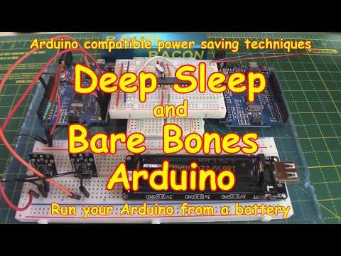 #116 Deep Sleep 💤 Bare-Bones Arduino (using wake up ⏱️ TIMER)