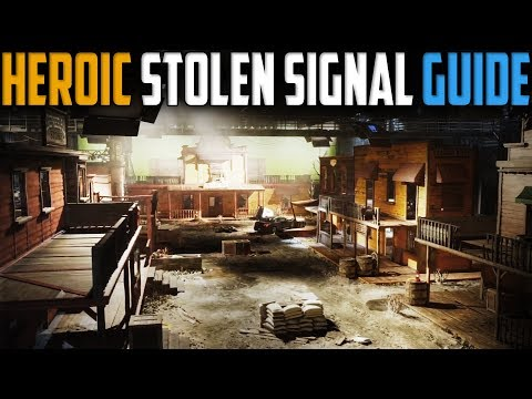 The Division | Stolen Signal Heroic Tutorial/Guide