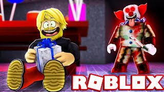FOR BIRTHDAY, BUT THERE ARE KILLER CLOWNMEN! 🤡 * ALL ENDINGS *:: Roblox * Camping * Birthday Party English
