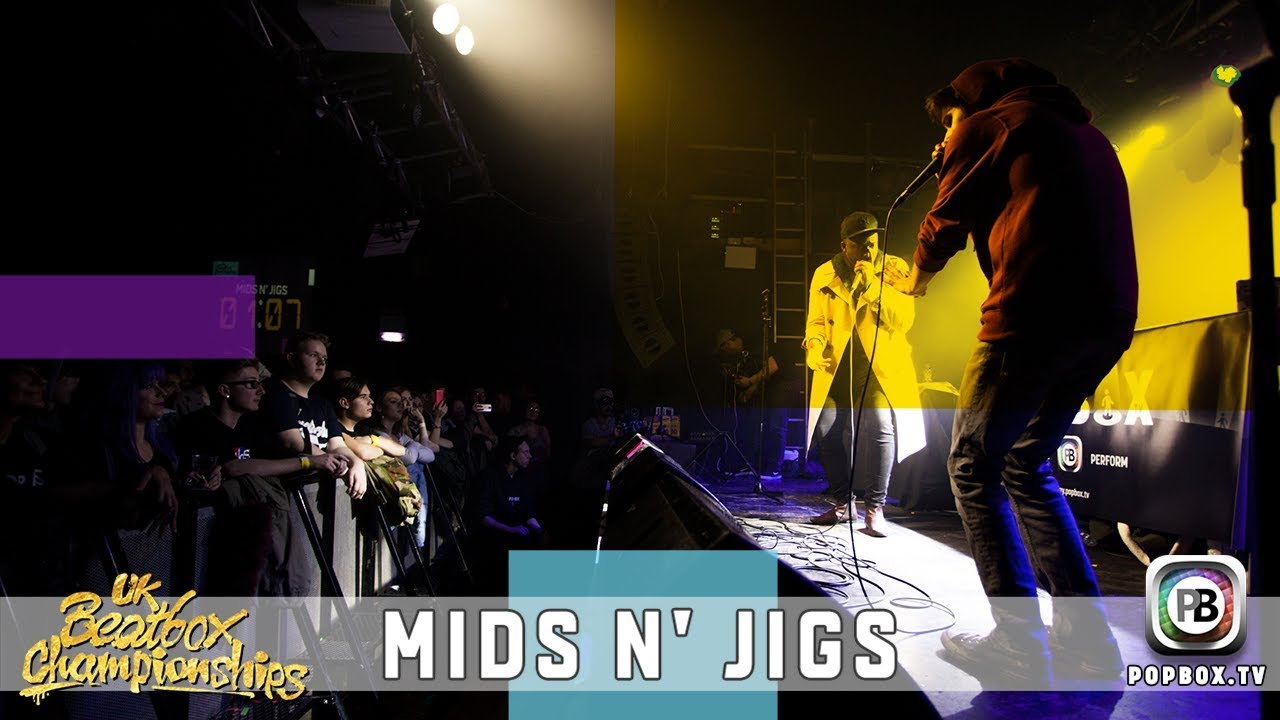 Mids n' Jigs   Team Elimination   2017 UK Beatbox Championships