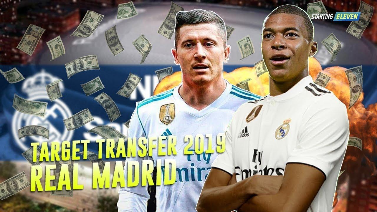 Pemain Incaran Real Madrid Di Bursa Transfer Januari
