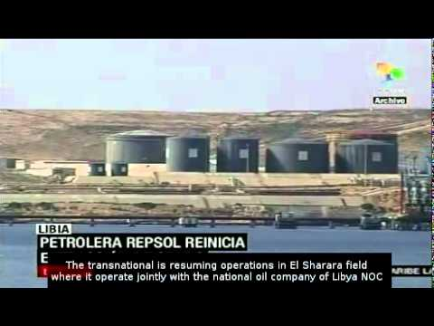Spanish oil company Repsol returns to Libya