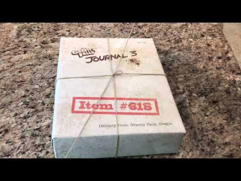 Gravity Falls Limited Edition Journal 3 Unboxing