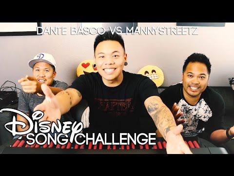 Disney  Challenge  Dante Basco vs. Manny Streetz  AJ Rafael
