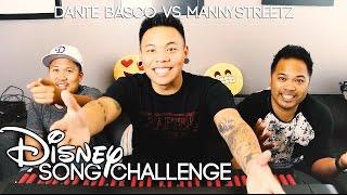 Disney Song Challenge - Dante Basco vs. Manny Streetz | AJ Rafael