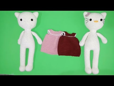 Hello kitty yapılışı 10 amigurumi - YouTube | 360x480