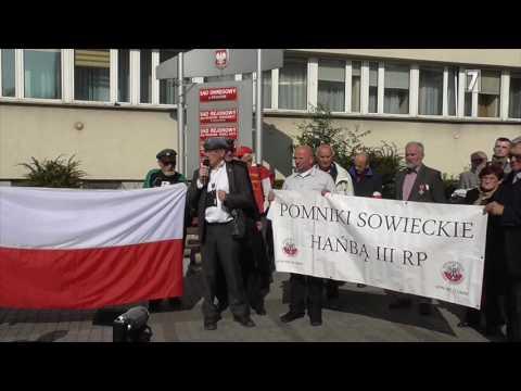 Uwolnić Miernika! Wiec przed krakowskim sądem